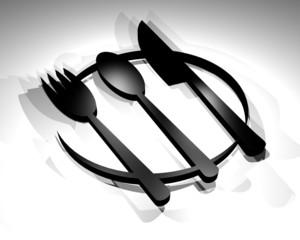 restaurant render symbol