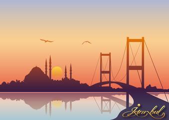 Farkli bir Istanbul  silueti