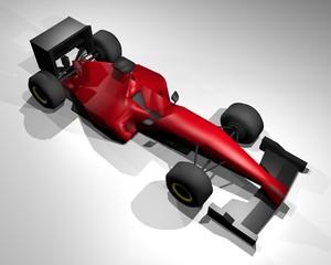 render formula car