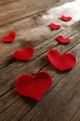 Valentine hearts - Stock Image