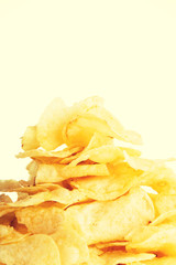 Tasty but unhealthy potatoe chips.