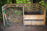 Backyard compost bins