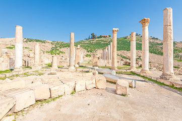 Tabaqat Fahl is the site of ancient ruins in northwestern Jordan