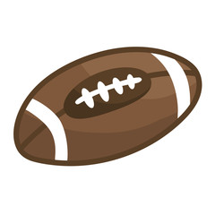 rugby ball or American football