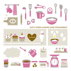 Let's make sweets and chocolates!