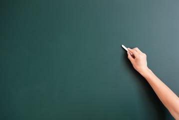writing something on background