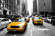 Leinwandbild Motiv New York Taxi