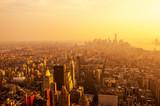 Fototapety Sunset on Manhattan