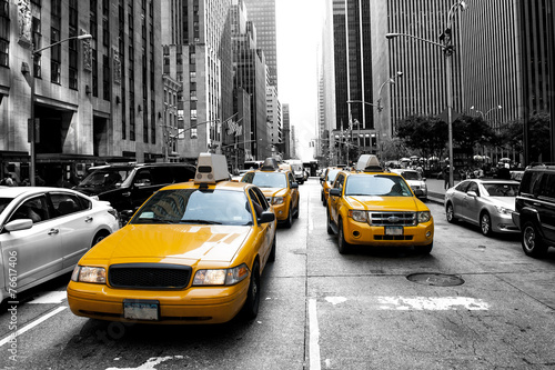 obraz PCV New York Taxi