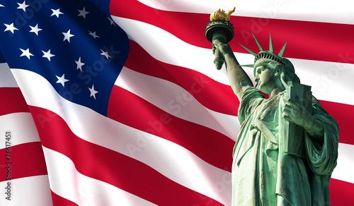 Aluminium New York City Statue of Liberty