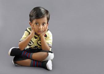 Cute Indian Little Boy