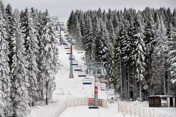 Winter resort Kopaonik, Serbia