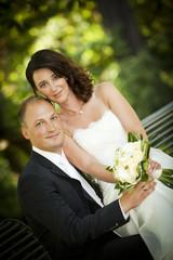 perfektes Portrait - Hochzeit wedding