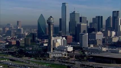 Dallas Skyline Morning
