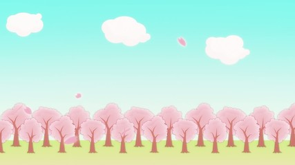 SAKURA - animated BG
