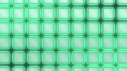 Moving Glow Grid - Abstract Background - green
