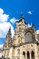 Cathedral of St. Vitus, Wenceslas and Vojtech in Prague Castle,