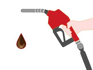 ガソリン給油ドのアイコン