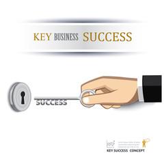 hand unlock key success business