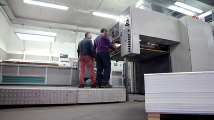 industrial printing of posters,newspapers,leafleats,magazines_ DOLLY