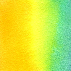 vector watercolor orange, yellow, azure gradient background
