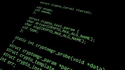 Source code diagonal