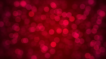 Blinking Particles - red