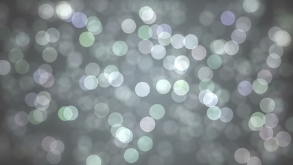 Blinking Particles - silver