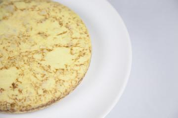 potato omelette detail