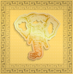 illustration: Golden Elephant