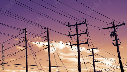 power cables - 76629609