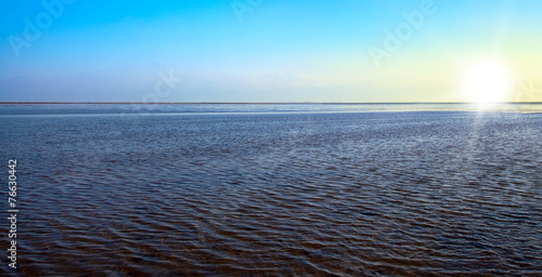 canvas print picture wadden sea