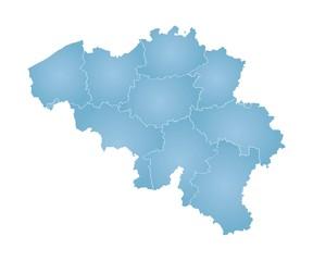 Map of Belgia