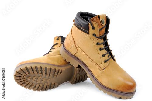 canvas print picture Men's shoes.