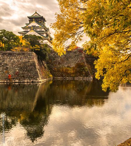 Foto op Plexiglas Japan Osaka Castle in Osaka, Japan.