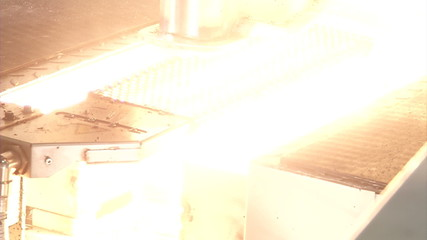 Элемент конвейера обработки вспышкой света