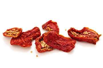 Dried tomatoes.