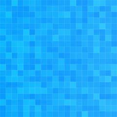 Squared blue seamless pattern
