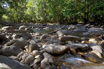 Water in Finch Hatton gorge, Queensland,Australia