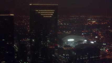 Houston Stadium Aerial Nighttime