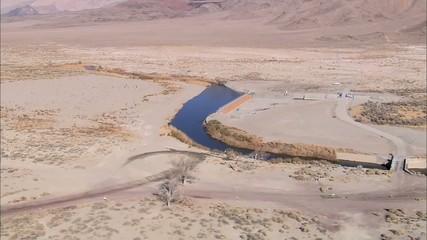 Desert Dry Mountain River