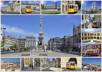 Lisbonne montage collage