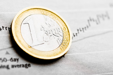 Rate of euro (shallow DOF)