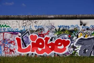 Mauer Liebe