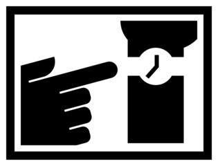Checking time icon