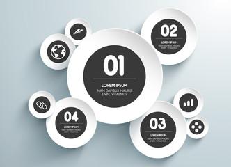 infografía para negocios con valores,niveles e iconos. Vector