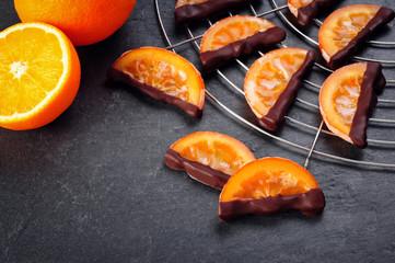 kandierte Orangenscheiben
