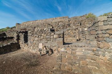 Ancient Gamla dwelling