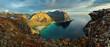 Beauty Landscape in Norway, Lofoten beach