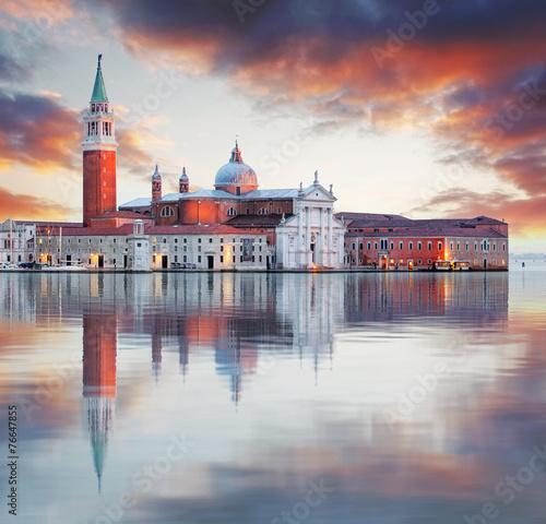 Fotobehang Venice Venice - Church of San Giorgio Maggiore
